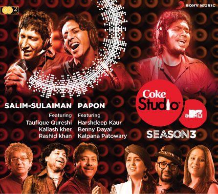 Coke Studio@ MTV Season 3, Episode 4 & 5 AUDIO-CD Online, Buy Coke Studio@ MTV Season 3, Episode 4 & 5 Fusion Mp3 Songs & Music CD in India - Infibeam.com #MTV #SalimSulaiman #Papon #Music #AudioCd #Infibeam