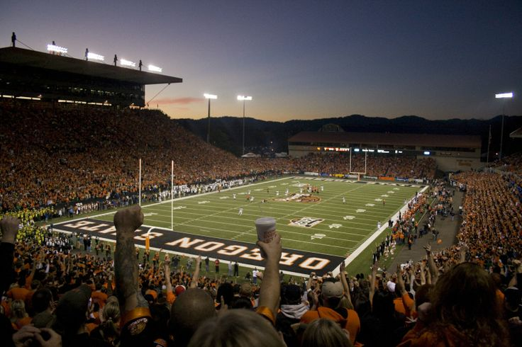 Reser Stadium. Oregon State University. Corvallis, Oregon.