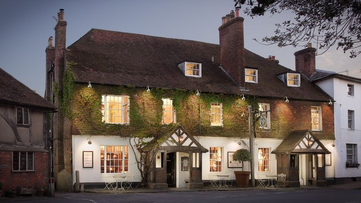 The Leicester Arms Hotel in Penshurst Kent - lovely pub with a gorgeous garden and great food.