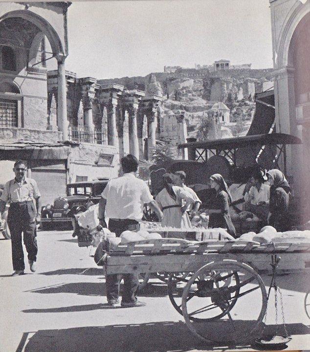 Monastiraki, 1958. Athens.