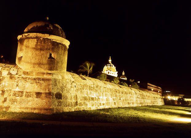 Murallas Cartagena Bolívar, Colombia
