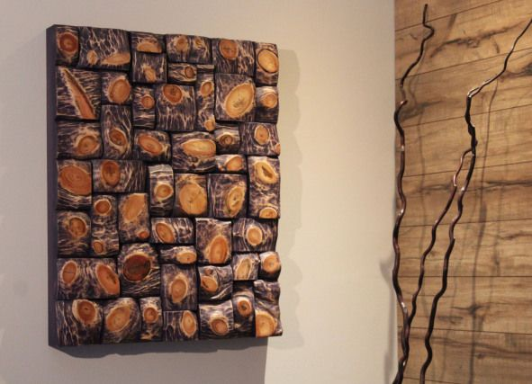 Nature Inspired Wood Art Living Well Interior Design Wall Art