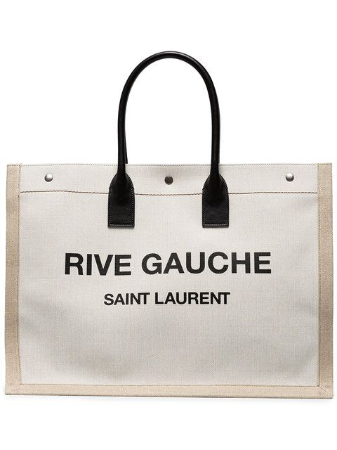 14645b5bf0f54 SAINT LAURENT Rive Gauche Tote Bag.  saintlaurent  bags  hand bags  canvas   tote