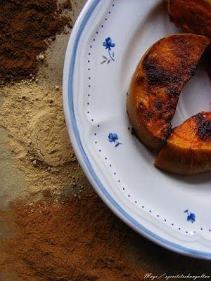 szeretetrehangoltan: Fűszeres édes sült tök. Házi (pumpkin spice) fűszerkeverék.