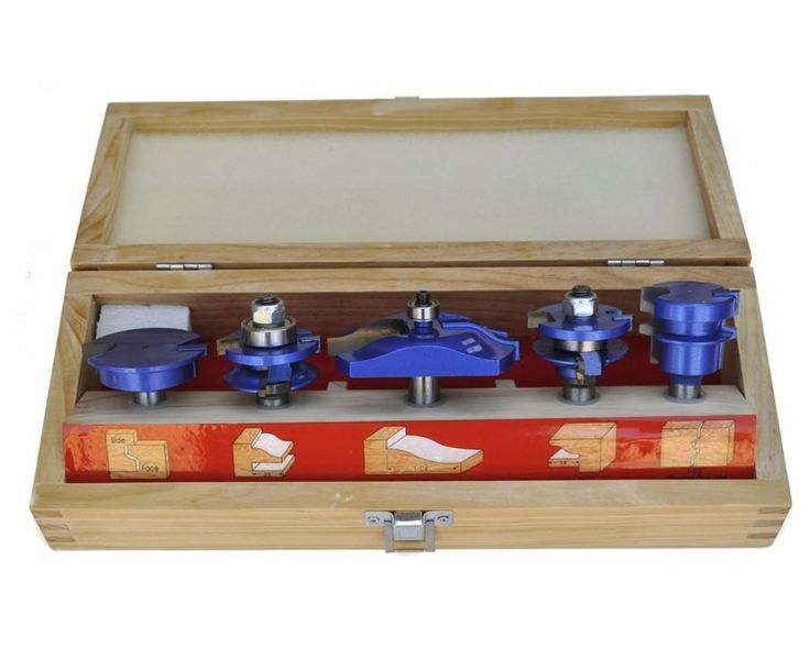 Kitchen Door & Drawer Router Bit Set