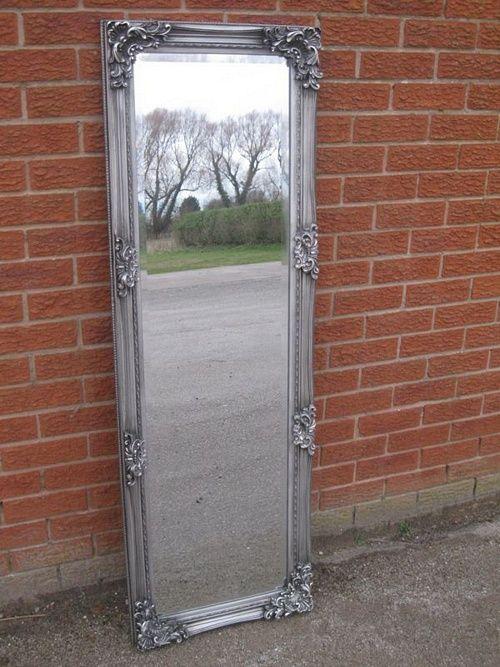 The Bordeaux Mirror - Antique Silver: 150cm x 50cm Mirrors > Silver Mirrors