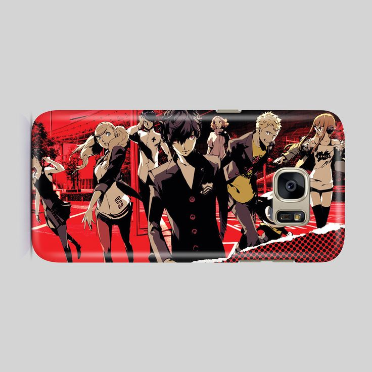 Persona 5 Phone Case / Cover - Iphone, Samsung Galaxy