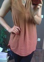 Śliczna karmelowa bluzka/tunika H&M nowa z metkami