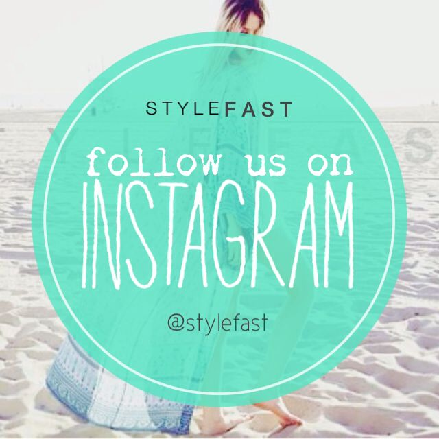StyleFast is now on instagram. Don't forget to follow them for some great style #stylefast #style #fashion
