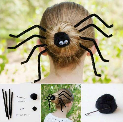 Image via We Heart It https://weheartit.com/entry/143164462 #hairstyles #halloweenhair #diyhair #spiderhair #halloweenhairstyles #spiderhairstyles