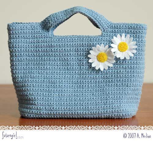 Easy Crochet Crossbody Bag Pattern : 17 Best images about handtassen on Pinterest Patricia ...