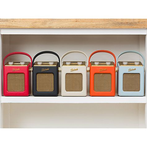 Buy ROBERTS Revival Mini DAB/FM Digital Radio Online at johnlewis.com. Retro radio, fab!