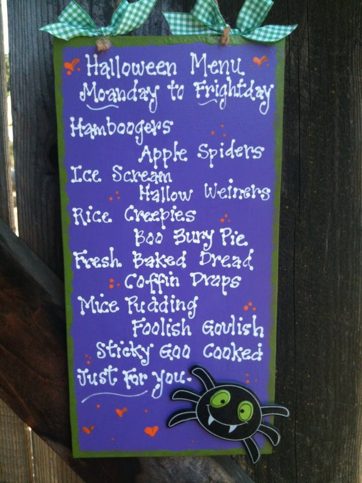1000 ideas about halloween menu on pinterest halloween foods martha stewart halloween and - Idee menu halloween ...