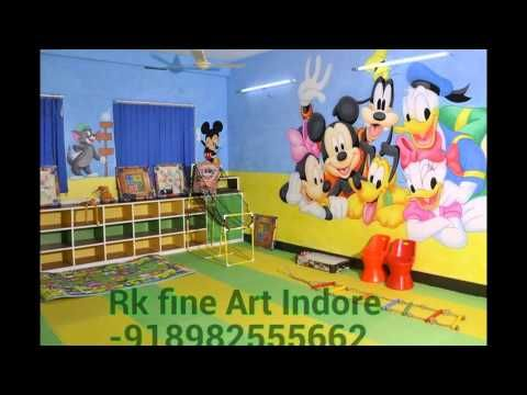 wall painting indore