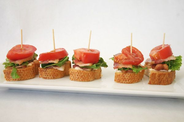 These BLT bites are simple and delicious, paired perfectly with any picnic or Fourth of July party.