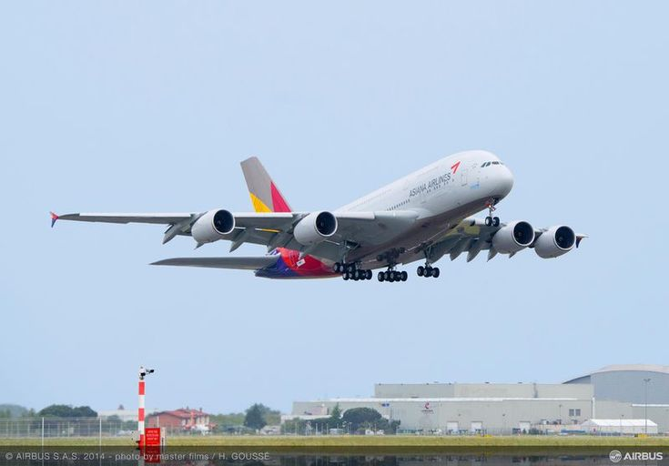 First A380 for Asiana Airlines is delivered http://www.airportspotting.com/asiana-airbus-a380-delivery/