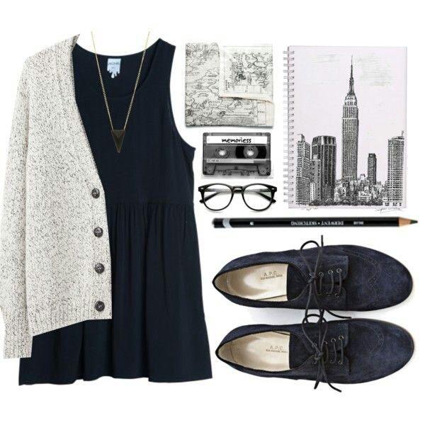 осень, одежда, комфортно, уютное, мило, платье, падение, ootd, комплект одежды, Оксфорд, стиль, замша, свитер, погода для свитра
