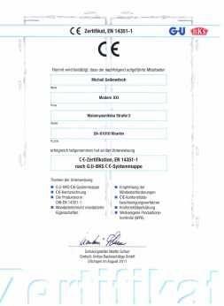 сертифакат производства
