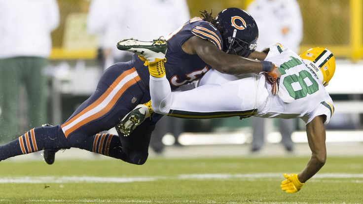 Chicago Bears linebacker Danny Trevathan earned a two-game suspension for landing a vicious helmet-to-helmet hit on Green Bay Packers receiver ...