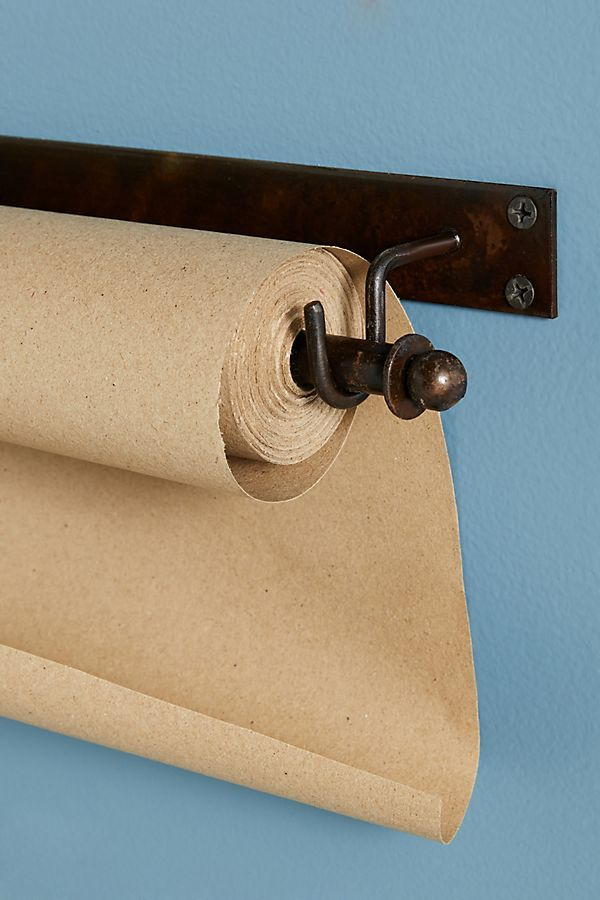 Kraft Paper Roll Holder Clip Set Diy Toilet Paper Holder