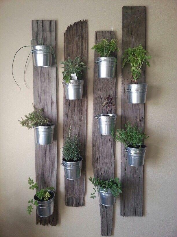 Jardín vertical de pared