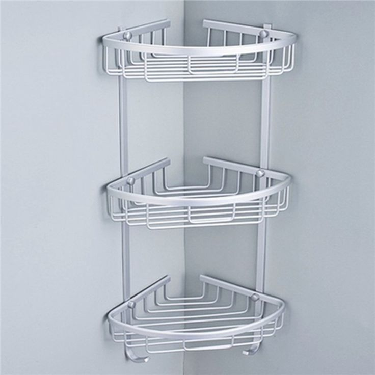 etagere d'angle douche grande taille
