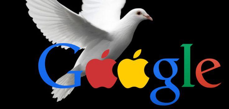 Endlich Frieden: Apple und Google beenden Patent-Atomkrieg - http://apfeleimer.de/2014/05/endlich-frieden-apple-und-google-beenden-patent-atomkrieg -                 Steve Jobs wollte Google bzw.Android im thermonuklearen Krieg vernichten, jetzt scheint plötzlich eine friedliche Ko-Existenz der beidenGiganten in erreichbarer Nähe. Der Patentkrieg zwischen Google und Apple ist beigelegt – beide Parteien wollen sich zudem für eine Über...