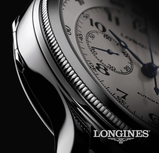 """""""Based in the Swiss town of St. Imier since 1832, Longines is celebrating its 180th anniversary in 2012. The famous Swiss watchmaker can boast a technical expertise born of tradition, elegance and performance.""""... www.longines.com"""