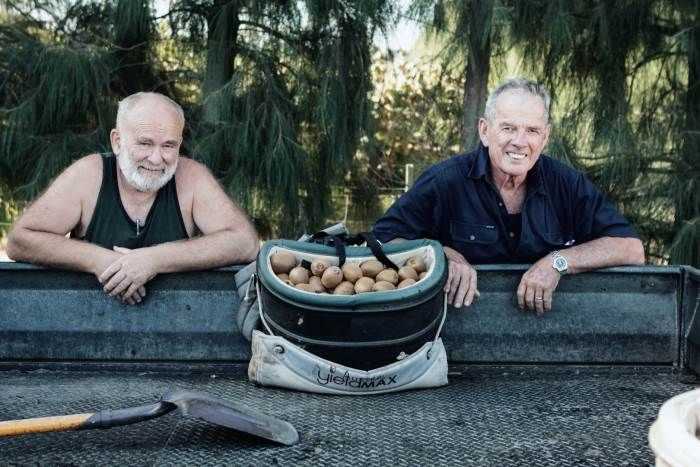 When you hit your 40s and feel like life is ripe for change, not many of us would think 'kiwi fruit farmer' an obvious choice. Not so for Jamie Craig. He and kiwi fruit devotee John Karl have formed a formidable partnership that has created one of the most prolific kiwi fruit orchards in Australia. #Aussie #Farmers #Farming #Kiwi #Fruit