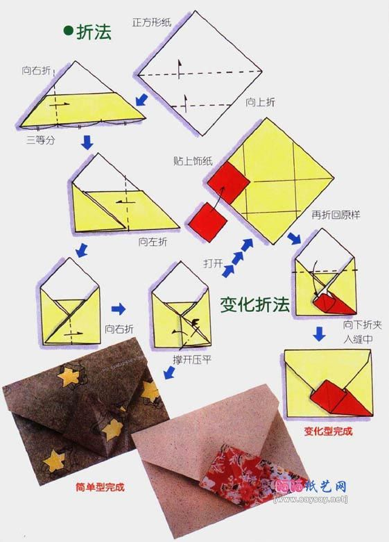 The 25 Best Origami Envelope Ideas On