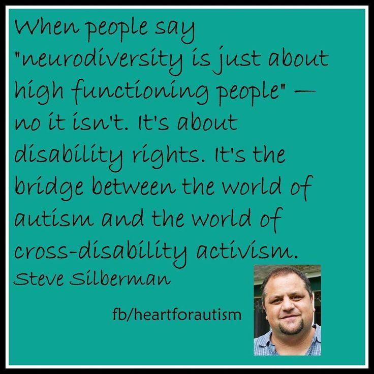 An inspiring quote from Steve Silberman's interview with Vox about #NeuroTribes.   #neurodiversity #autism Tap the link to check out sensory toys!