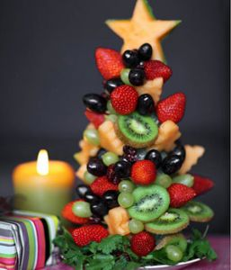 Christmas Fruit Tree (Engine2Diet)
