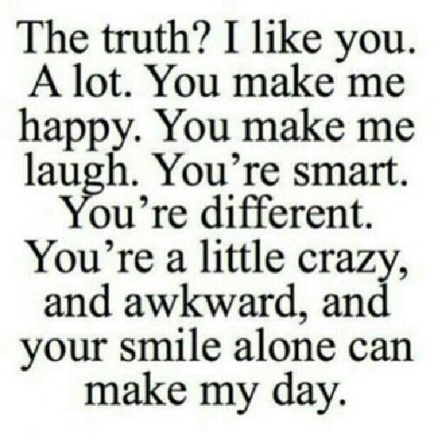 I think he notices he makes my day everytime I look at him and he looks back with a smirk... Crazy