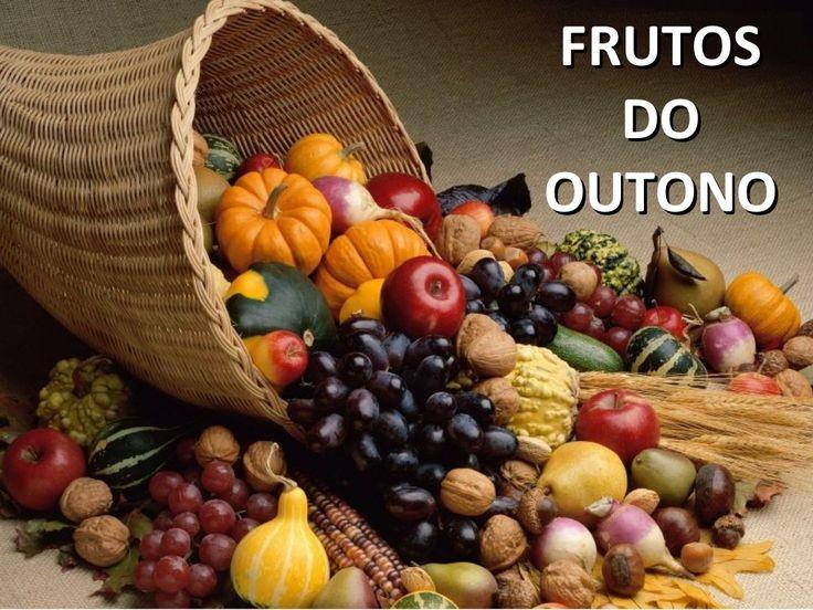 Frutos do outono by Gina Monteiro via slideshare