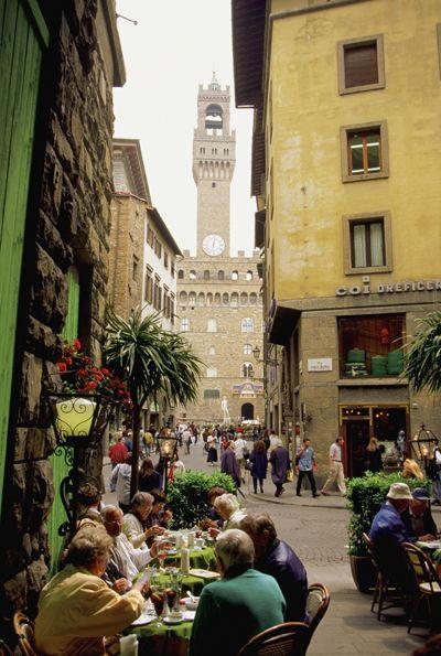 Un respiro, caminando por Florencia Italia