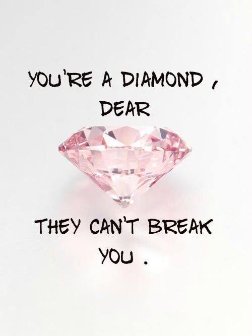 They can't break you.