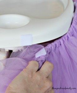 Highchair Tutu Attachment