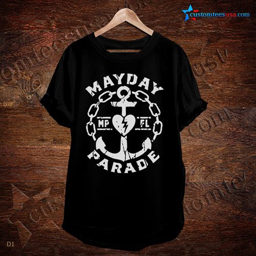 Mayday Parade Band T-Shirt – Adult Unisex Size S-3XL