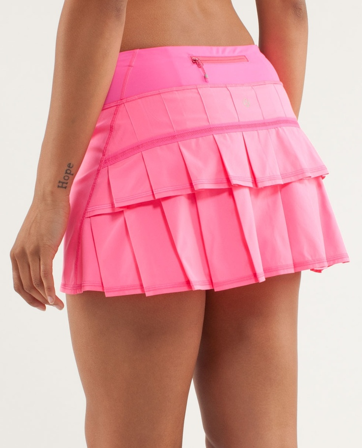 Break long-held records (and some hearts) in this made-to-move skirt. @lululemon athletica