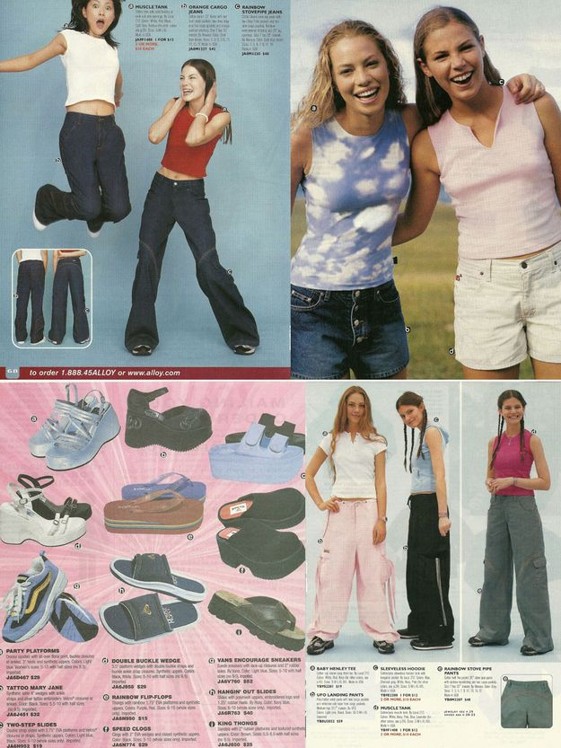 5 Teen Fashion Catalogs From Your Past. I had this issue of Alloy. Man, I wanted those rainbow seam pants so bad...