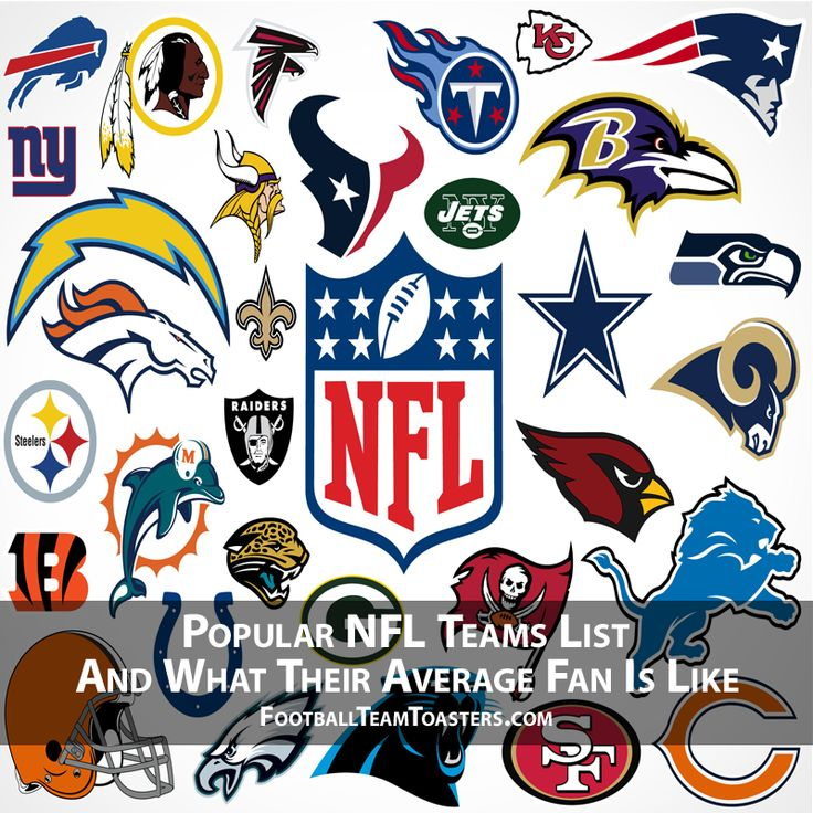 Popular NFL Teams List And What Their Average Fan Is Like