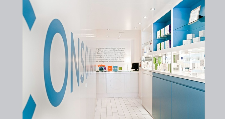 Fia Interiors designed this flagship retail store for Consonant beauty products in Toronto. Check them out at www.consonant.ca and visit us at www.fiainteriors.com