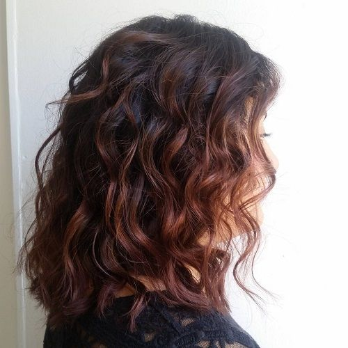layered curly haircuts best 25 chestnut hair colors ideas on what is 1590