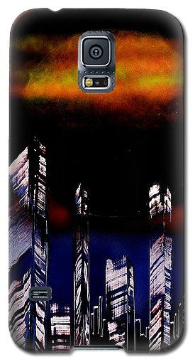Capital Of The Other Land Galaxy S5 Case Printed with Fine Art spray painting image Capital Of The Other Land by Nandor Molnar (When you visit the Shop, change the orientation, background color and image size as you wish)