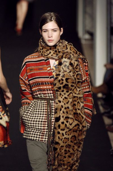 beautiful south american Peru textile from Isabel Marant fall 2005
