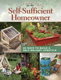 Even if you live on a small urban plot, there are many steps you can take to increase your self-sufficiency. From harvesting rain water in a rain barrel to composting your kitchen and yard waste in a compost bin, you can greatly increase your self-reliance by undertaking a few simple DIY projects.