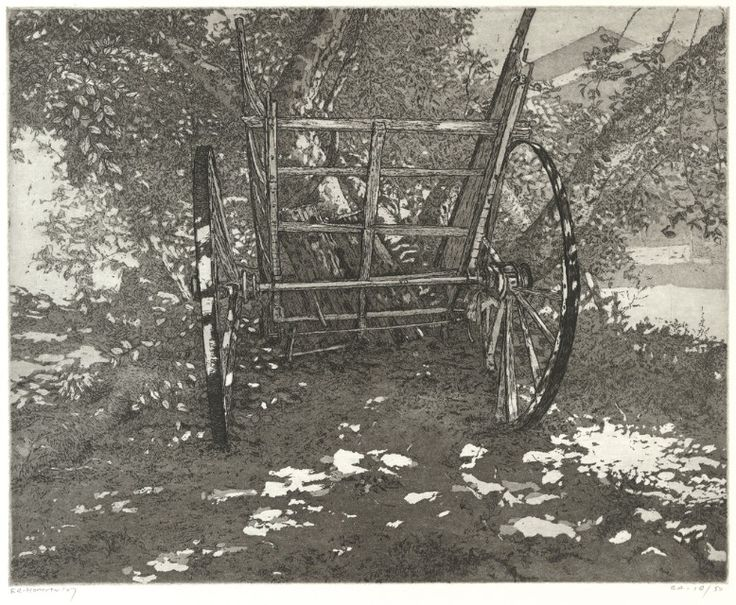 Reinder Homan(Dutch, b.1950)Kar (Portugal)   2007  etching, aquatint  via