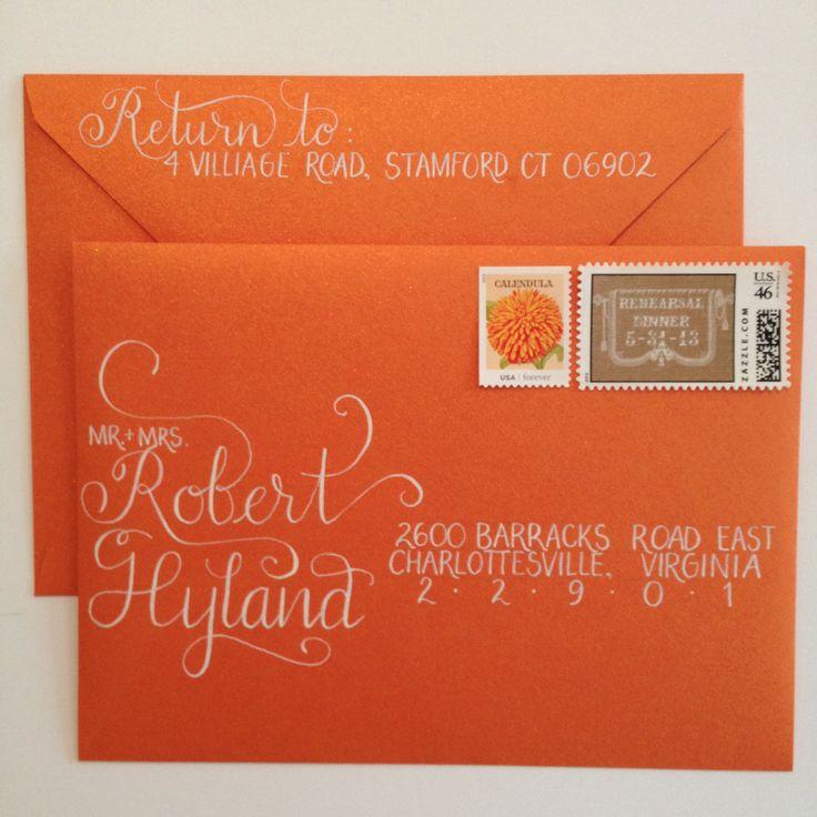 Modern Hand-Calligraphy Envelopes!
