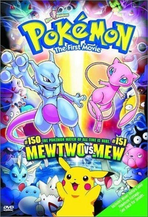 Pokémon: The First Movie: Mewtwo Strikes Back Full Movie Online 1998