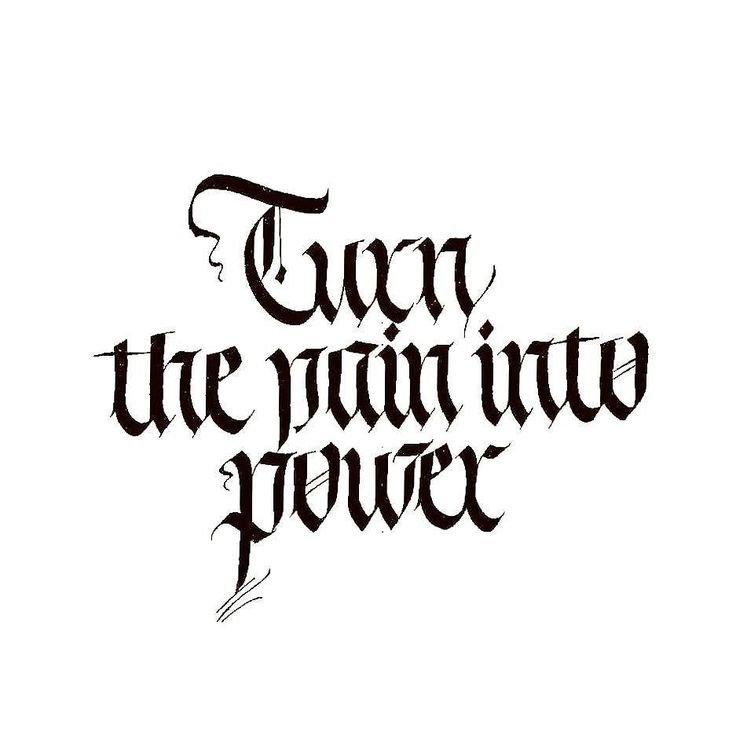 Turn the pain into power. 2  #calligraphy #kaligrafi #calligritype #thedailytype #goodtype #lettering #typography #sanat #art #graphicdesign #graffiti #logo #logotype #italic #arts_help #artwork #illustration #instagood #typism #watercolor #calligraphymasters #brause #hatsanatı #pilotparallelpen #thedesigntip #typegang #tattoo #sdü by yasinuysal07